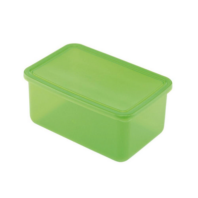 Lunch Box Base Large Translucent Green