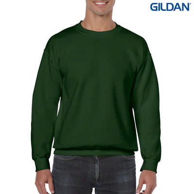 18000 Adult Crew - Forest Green