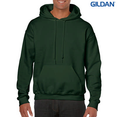 18500 Adult HB Hoody - Forest Green