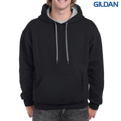 185C00 Adult Contrast Hood - BlackSport Grey