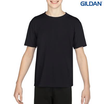 42000B Gildan Performance Youth T - Black