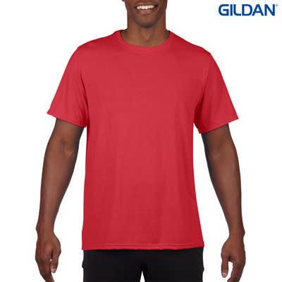 42000 Gildan Performance Adult T - Red