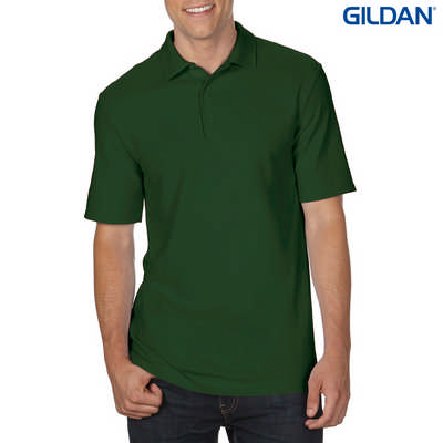 72800 DryBlend Adult Dbl Pique Polo - Forest Green