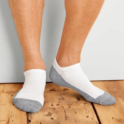 Gildan Ankle Sock (6 PACK) - Black