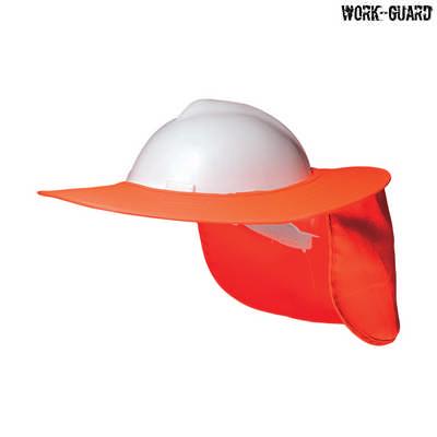 H15700 - Hard Hat Brim - Fluro Orange