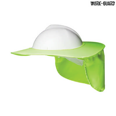 H15700 - Hard Hat Brim - Fluro Yellow