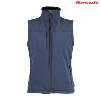 R014F Result Ladies Soft Shell Vest - Navy