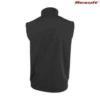 R014M Result Classic Soft Shell Vest - Black