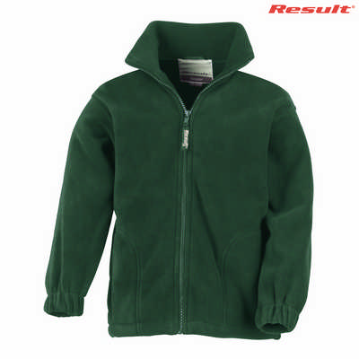 R036B Result Youth 330gsm Polartherm Jacket - Forest