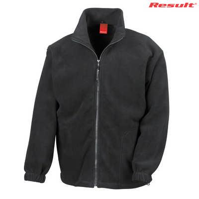 R036X Result Adult 330gsm Polartherm Jacket - Black