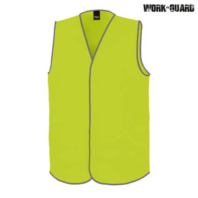 Work-Guard Safety Vest - Safety Yellow (No Tape)