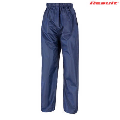 Result Core Youth Rain Pant - Navy
