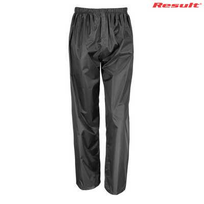 Result Core Adult Rain Pant - Black