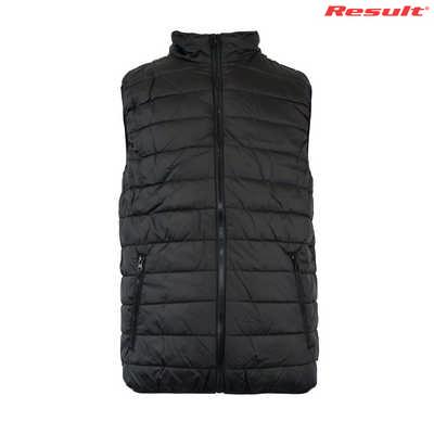 R234X Result Adullt soft padded Vest - Black