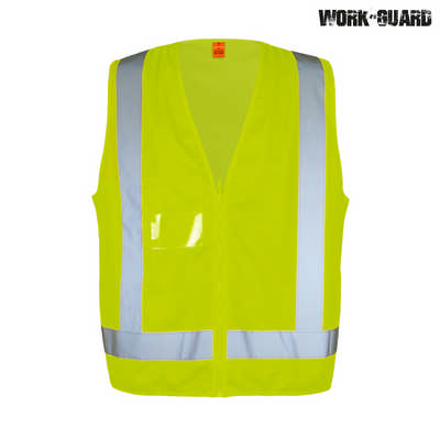 Work-Guard Safety Vest - Safety Yellow