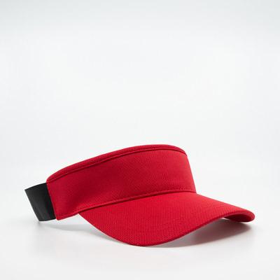 HW24 Athlete Elastic Visor - Red