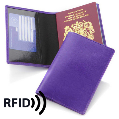 Economy Passport Wallet with RFID Protection