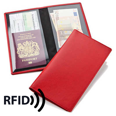 Economy Travel Wallet with RFID Protection