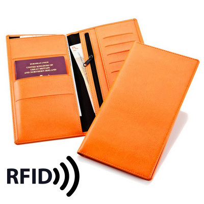 Deluxe Travel Wallet with RFID Protection