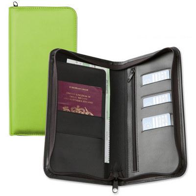 Deluxe Zipped Travel Wallet
