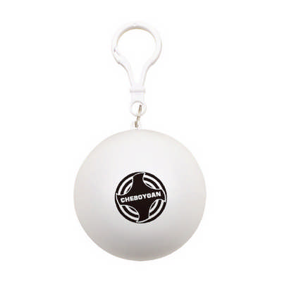 Pocket Ball Rain Poncho