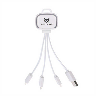 LED Charging Cable with Multiple Connectors