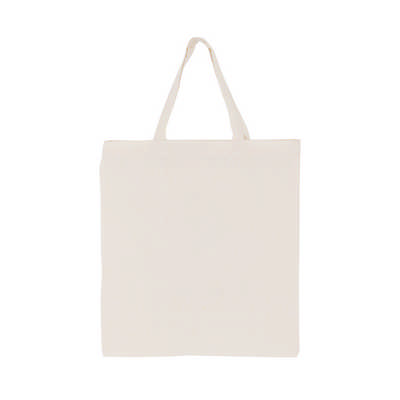 170gsm Full Coloured Short Handle Calico Bag