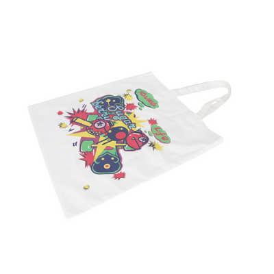 170gsm Sublimation Short Handle Cotton Bag