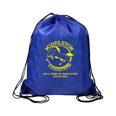 Normal Polyester Drawstring Bag