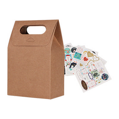Die cut Handle Bag(100x160x60mm)