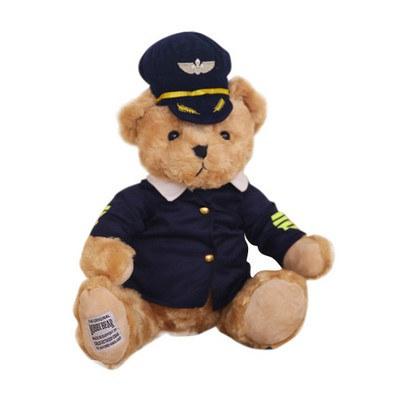 Cloth Changing Plush Toy - Teddy Bear