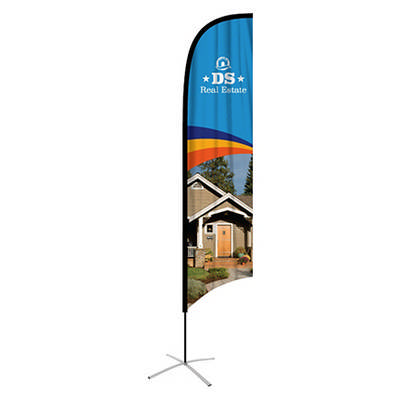 Large(80.5400cm) Concave Feather Banners 15ft
