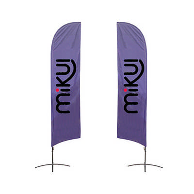 Medium(70.4300cm) Angled Feather Banners 13ft