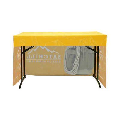3-Side Fitted Table Cloth 4ft