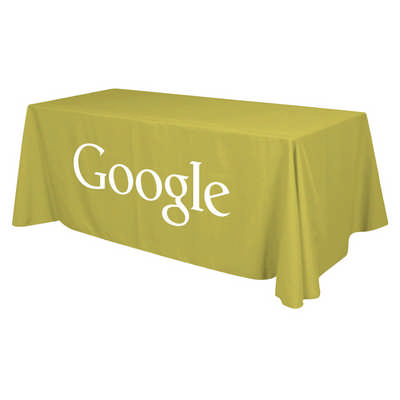3-Sided Throw Table Cloth 8ft
