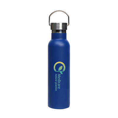 600ml Double Wall Vacuum Bottle with Stainless Ste