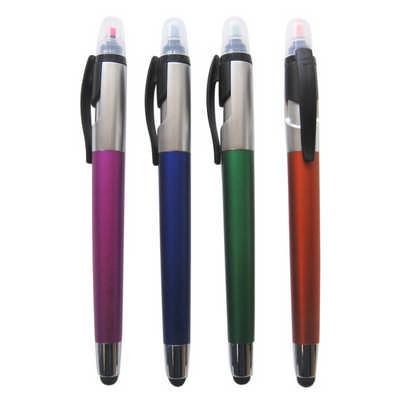 Ball Pen with Highlighter