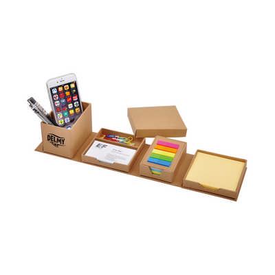 Folding Cube Desk Holder