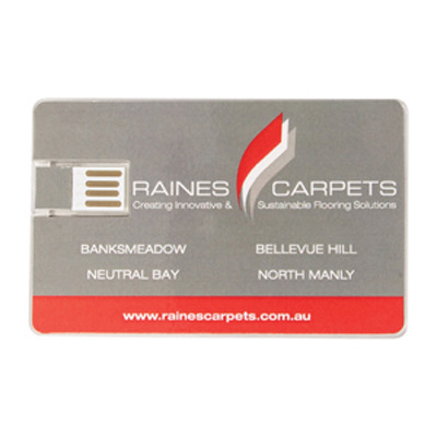 Acrylic Credit Card Flash Drive 16GB - (printed with 4 colour(s)) AR248-16GB_PROMOITS