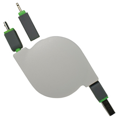 Bella 2n1 Retractable Charge Cable - (printed with 1 colour(s)) AR579_PROMOITS