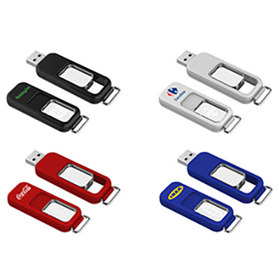 Bunda Light Flash Drive 16GB - (printed with 3 colour(s)) AR603-16GB_PROMOITS
