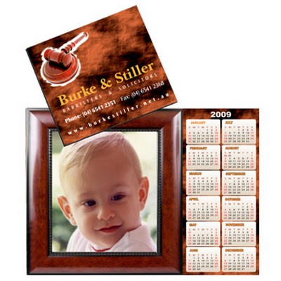 Calendar/Photo Frame Combo Magnet CAC8 - (printed with 4 colour(s))  (CAC8_PRMESS)