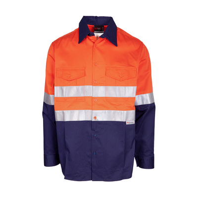 100% Combed Cotton Drill Long Sleeve Shirt - 3M