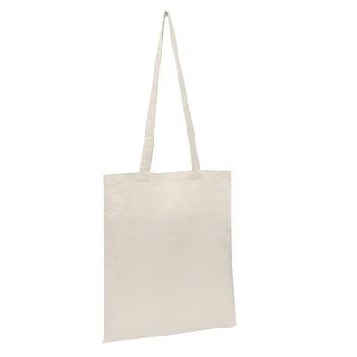 Calico Bag Natural - Long Handle