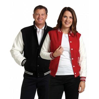 Unisex Wool Blend Varsity Jacket 400gsm