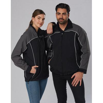 Cascade Tri-Colour Contrast Reversible Jacket