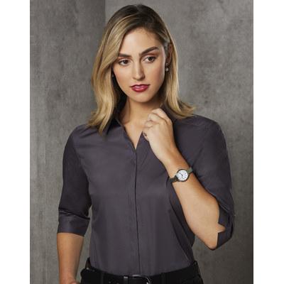 Barkley Ladies Taped Seam 34 Sleeve Shirt