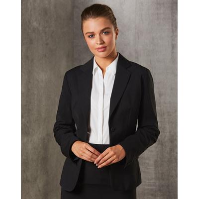 WomenS PolyViscose Stretch Stripe One Button Cropp