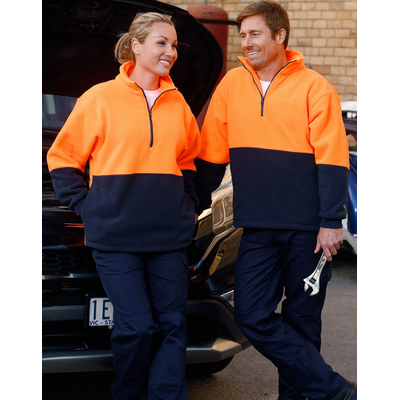 Hi-Vis 2 Tone Polar Fleece