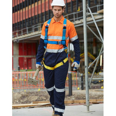 Mens Two Tone Coverall